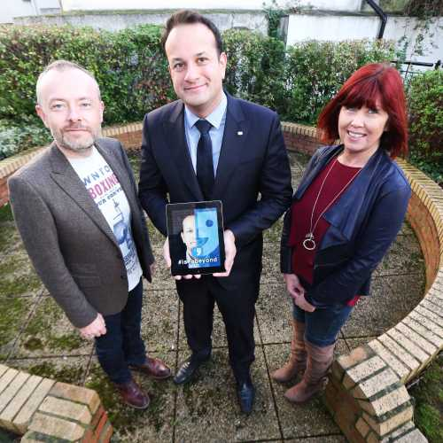#iseebeyond campaign launched by Minister Varadkar
